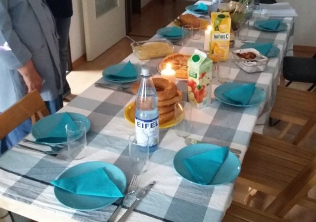 Am Küchentisch mit dem Generalvikar
