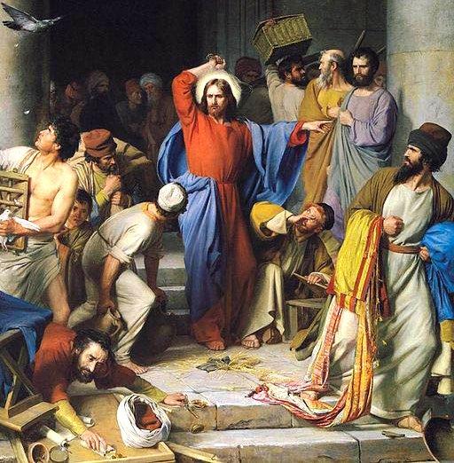 Bibel_Jesus-Tempelreinigung_Carl-Bloch